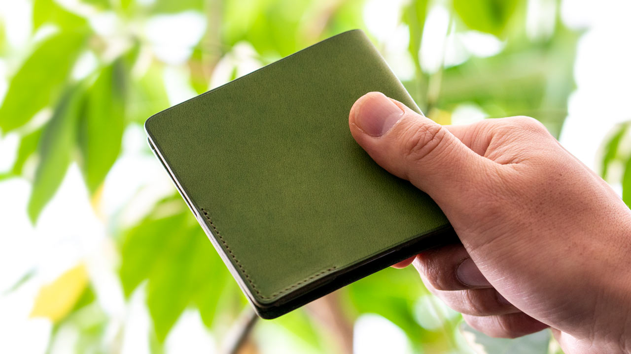Small [Thin wallet]HITOE Fold